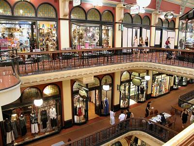 Queen Victoria Building Inside